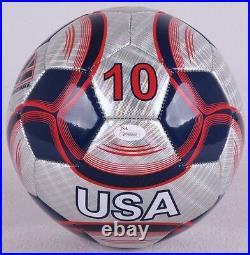 Hope Solo Signed Team USA Soccer Ball (JSA COA)