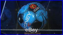 Hyundai A-Legaue Sydney FC Signed 2010 Premiership Ball + Professioanlly Framed