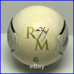 Iker Casillas Jose Mourinho Marcelo Signed Adidas Soccer Ball Beckett BAS A75468