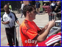 Iker Casillas Signed Real Madrid Soccer Jersey New With Tags with proof