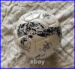 Impact Montreal Football Team Autographed Official Puma Soccer Ball