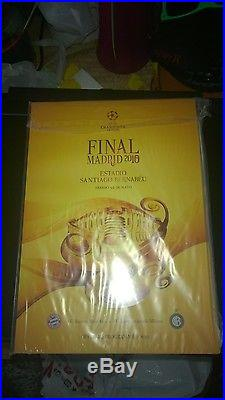 Inter Milan Signed Champion's League Ball Winners 2010