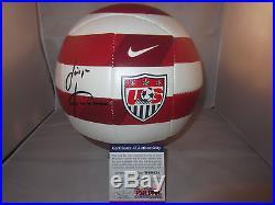 Jurgen Klinsmann Signed Nike Team USA Soccer Ball Psa/dna W60434 2014 World Cup