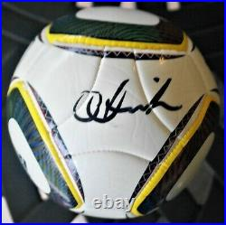 Jabulani Adidas Mini Match Ball Replica Fifa South Africa 2010 Tim Cahill Signed