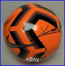 Jerome Boateng Thiago Alcantara Kingsley Coman +4 Signed Nike Soccer Ball PSA