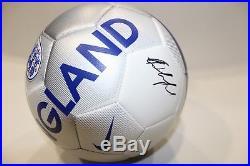Jesse Lingard Signed England Nike Soccer Ball (Beckett COA) Autographed Auto