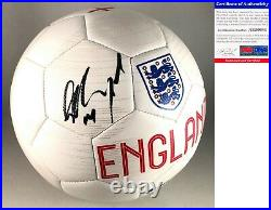 Jesse Lingard Signed Soccer Ball Manchester United England Futbol PSA/DNA COA
