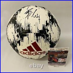 João Félix Signed Adidas Soccer Ball Atletico Madrid Autograph+jsa Coa