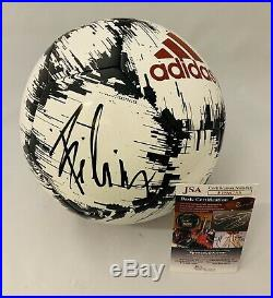João Felix Signed Adidas Soccer Ball Atlético Madrid Portugal Auto+jsa Coa