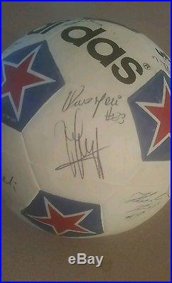 Johan Cruyff/Washington Diplomats Autographed Soccer Ball
