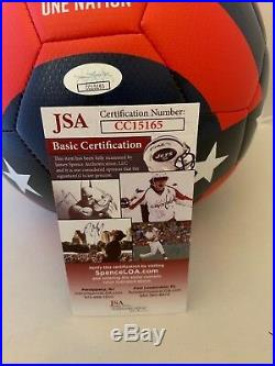 Jozy Altidore signed Nike Team USA Soccer Ball autographed Toronto FC JSA