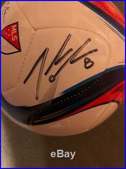 Julie Johnston Ertz Autographed / Signed Soccer Ball