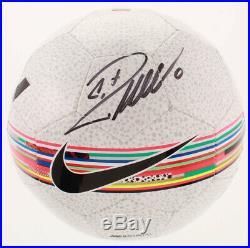 Juventus Cristiano Ronaldo Signed Nike Prestige Soccer Ball Beckett COA