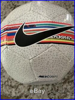 Juventus Cristiano Ronaldo Signed Nike Soccer Ball Beckett BAS