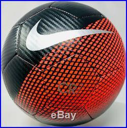 Juventus Cristiano Ronaldo Signed Nike Soccer Ball Beckett BAS Witnessed