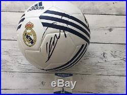 KaKa Signed Autographed Real Madrid Size 5 Soccer Ball BECKETT BAS COA a