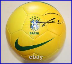 Kaka Signed Brazil Nike Soccer Ball withCOA Real Madrid Futbol MLS All Star