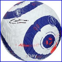 Kevin De Bruyne Manchester City F. C. Autographed Premier League Soccer Ball