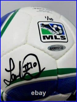 LANDON DONOVAN Autographed Adidas MLS Soccer Ball UDA LE 1/10
