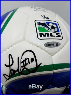 LANDON DONOVAN Autographed MLS Adidas Soccer Ball UDA LE 1/10