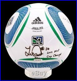 LANDON DONOVAN Signed 2011 MLS CUP Champ Ball UDA LE 10