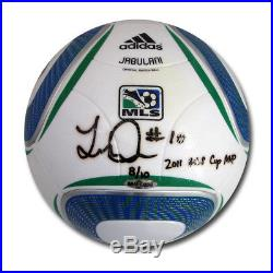 Landon Donovan Autographed MLS Match Ball Inscribed 2011 MLS CUP Champ