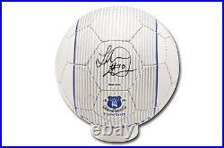 Landon Donovan Signed Autographed Everton F. C. Soccer Ball Black Ink UDA