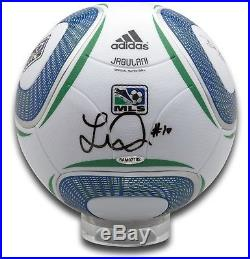 Landon Donovan Signed Autographed MLS Match Soccer Ball LA Galaxy Black Ink UDA