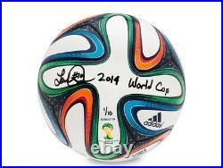 Landon Donovan Signed Autographed Soccer Ball Inscribed 2014 World Cup /10 UDA