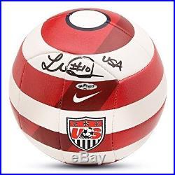 Landon Donovan Signed Nike US Prestige Soccer Ball UDA 80613