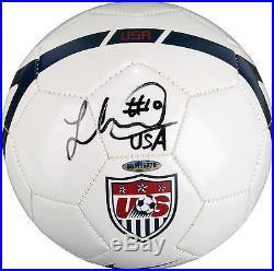 Landon Donovan Team USA Autographed USA Soccer Ball Upper Deck