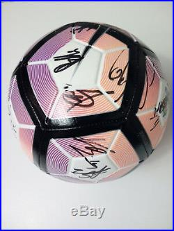 Lazio Ball Signed Basta Parolo Lukaku Bastos Immobile Radu Anderson Keita