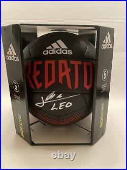 Leo Messi Signed Autographed Adidas Predator Ball! GA COA. Messi! Soccer