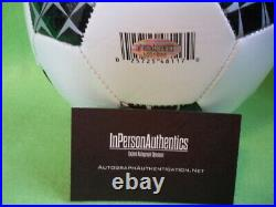 Leo Messi Signed Autographed Soccer Ball Certified COA D150