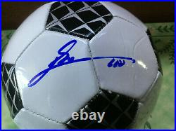 Lionel Messi AUTOGRAPH Soccer Ball with COA Leo HAND SIGNED Barcelona Argentina
