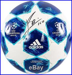 Lionel Messi Barcelona Autographed 2018-19 Champions League Soccer Ball ICONS