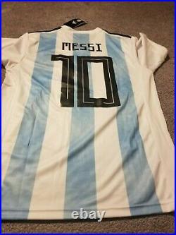 Lionel Messi Diego Maradona Signed Hand Argentina 2019/2020 + Proof + Coa Auto