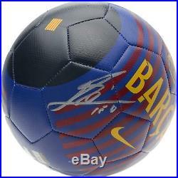 Lionel Messi FC Barcelona Signed Nike Prestige Soccer Ball Fanatics
