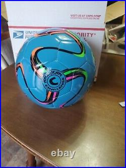 Lionel Messi Hand-Signed Autograph Ball American Challenge (Never Displayed)