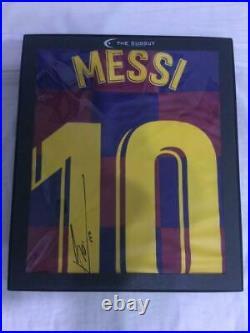 Lionel Messi's autographed uniform 2019-2020 season