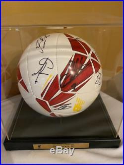 Liverpool Football Club 2019/20 Hand Signed Ball Soccer Ball COA