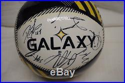 Los Angeles LA Galaxy 2016 MLS Autographed Giovani dos Santos Soccer ball
