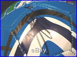 MARIO BALOTELLI SIGNED ITALY SOCCER BALL WORLD CUP AC MILAN PROOF FUTBOL JSA COA