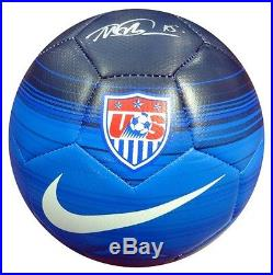 MEGAN RAPINOE AUTOGRAPHED SIGNED NIKE TEAM USA SOCCER BALL PSA/DNA STOCK #94314