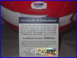 Michael Bradley Signed Nike Team USA Soccer Ball Psa/dna W60430 2014 World Cup