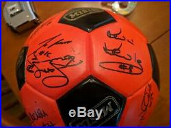 MISL 1985-86 Wichita Wings Signed By Top Players