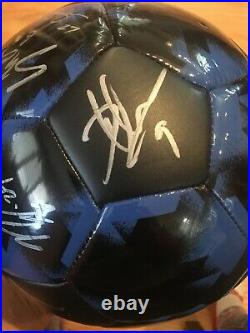 MLS Adidas San Jose Quakes 2018 Soccer Team Signed Ball Chris Wondolowski