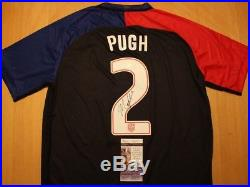 Mallory Pugh Signed Autograph Jersey USA Soccer AUTO JSA COA Womens USWNT Ball