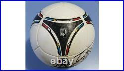 Match Used Portugal Germany UEFA Euro 2012 Soccer Ball! Cristiano Ronaldo Signed