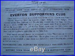 Matt Busby, Alan Ball, Bobby Charlton, Denis Law, Nobby Stiles Signed Programme